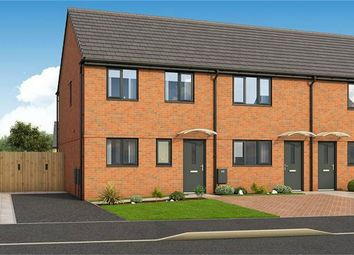 Thumbnail 3 bedroom end terrace house for sale in The Ashby, Plot 211 Roman Fields, Manor Drive, Gunthorpe, Peterborough
