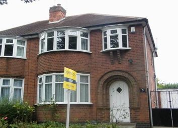 Thumbnail 3 bedroom property to rent in Garland Crescent, Leicester