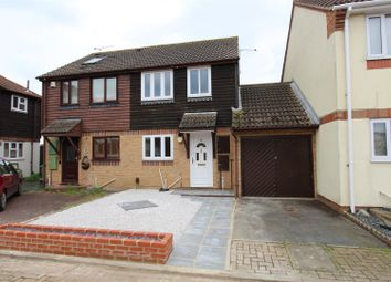 Thumbnail 2 bed semi-detached house to rent in Colfe Way, Kemsley, Sittingbourne