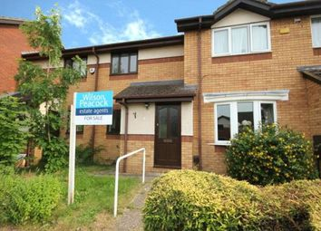 Thumbnail 2 bed terraced house for sale in Dynevor Close, Bromham, Bedford, Bedfordshire