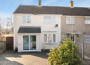 Thumbnail 3 bed end terrace house for sale in The Noke, Stevenage