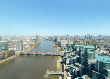 The Tower, St Georges Wharf SW8. 3 bed flat for sale