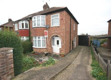 Thumbnail 3 bed semi-detached house for sale in Newland Park Drive, York, North Yorkshire, England