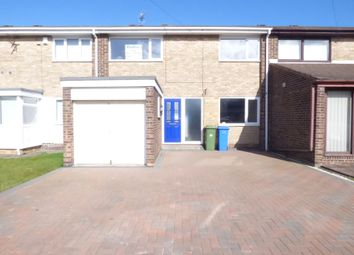 Thumbnail 3 bed terraced house to rent in Embleton Drive, Blyth
