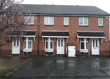 Thumbnail 2 bed terraced house to rent in Anstey Croft, Fordbridge, Birmingham, West Midlands