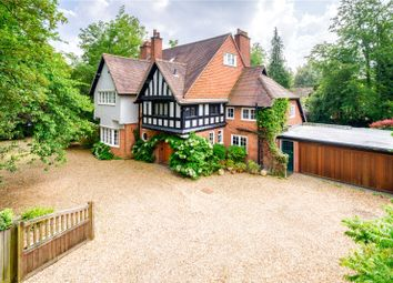 Thumbnail 6 bed detached house for sale in Tunwells Lane, Great Shelford, Cambridge