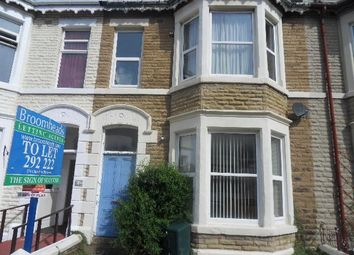 Thumbnail 1 bedroom flat to rent in Withnell Road, Blackpool