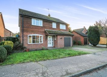 Thumbnail 4 bedroom detached house for sale in Great Hockham, Thetford, Norfolk