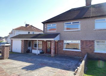 Thumbnail 3 bed semi-detached house for sale in Kings Hill Avenue, Porthcawl