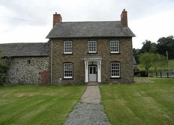 Thumbnail 5 bed detached house to rent in Bwlch-Y-Cibau, Llanfyllin