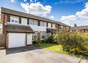 Thumbnail 3 bed semi-detached house for sale in Elderfield Close, Emsworth