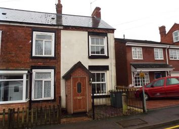 Thumbnail 2 bedroom end terrace house for sale in Feckenham Road, Astwood Bank, Worcestershire
