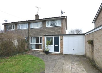 Thumbnail 3 bed semi-detached house to rent in Sandhurst Lane, Blackwater, Camberley
