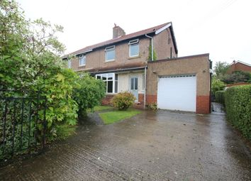 Thumbnail 3 bed semi-detached house for sale in Norman Road, Rowlands Gill