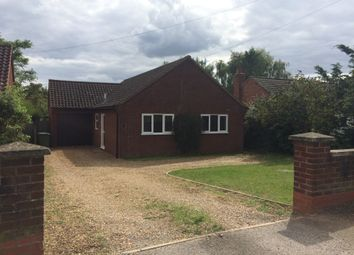 Thumbnail 3 bed bungalow to rent in Hall Lane, Drayton, Drayton, Norwich