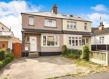 Thumbnail 3 bed semi-detached house for sale in Queens Road, Rayleigh