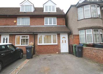 Thumbnail 3 bed property to rent in Felhurst Crescent, Dagenham