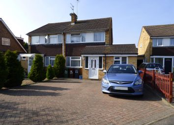 Thumbnail 3 bed semi-detached house for sale in Chandos Road, Borehamwood