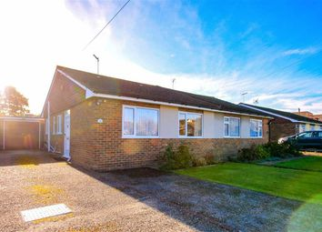 Thumbnail 2 bed semi-detached bungalow for sale in Greenacres, Westfield, East Sussex
