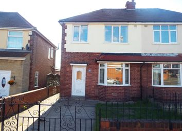 Thumbnail 3 bed semi-detached house to rent in Raines Park Road, Worksop
