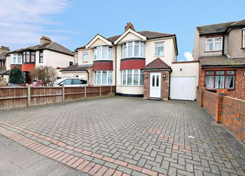 Thumbnail 3 bed semi-detached house to rent in Wennington Road, Rainham