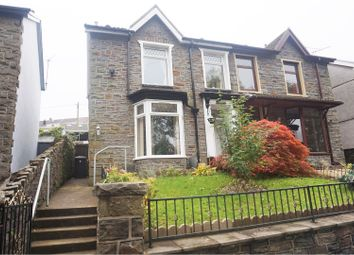 Thumbnail 3 bed semi-detached house for sale in Aberdare Road, Mountain Ash