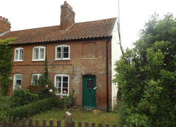 Thumbnail 3 bedroom end terrace house for sale in Bawdsey, Woodbridge, Suffolk