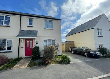 Thumbnail 3 bed end terrace house to rent in Growan Road, St. Austell