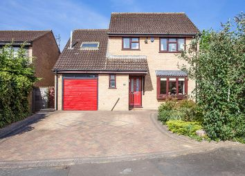 Thumbnail 4 bed detached house for sale in Middlefield Close, Buckingham