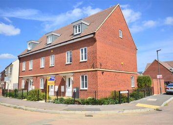 Thumbnail 3 bed town house for sale in Chestnut Road, Brockworth, Gloucester