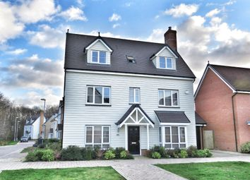 Thumbnail 5 bed detached house for sale in Murray Mcpherson Parade, Colchester