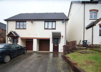 Thumbnail 1 bed semi-detached house to rent in Heron Way, Torquay