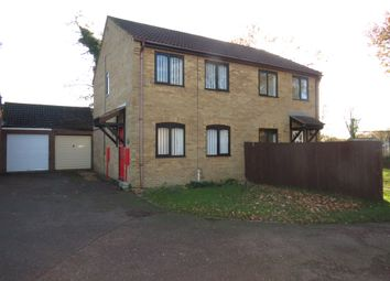 Thumbnail 3 bed semi-detached house for sale in Hillfields, Toftwood, Dereham