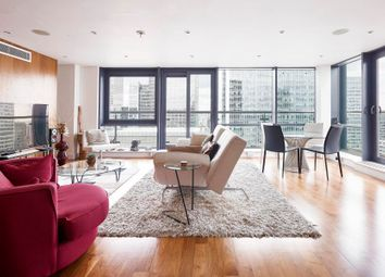 Thumbnail 4 bed flat for sale in Discovery Dock East, Canary Wharf