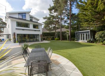 Thumbnail 4 bed detached house for sale in Crichel Mount Road, Evening Hill, Poole, Dorset
