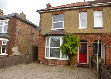 Thumbnail 3 bed semi-detached house to rent in Wisbech Road, March