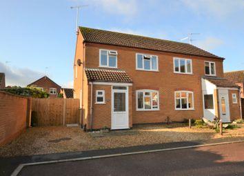 Thumbnail 3 bed semi-detached house for sale in Stanton Road, Dersingham, King's Lynn