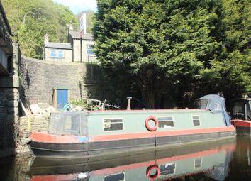 Thumbnail 1 bed property for sale in Dream Weaver, Mayroyd Moorings, Hebden Bridge