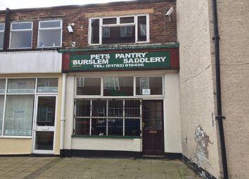 Thumbnail Retail premises for sale in 8 Nile Street, Burslem, Stoke-On-Trent, Staffordshire