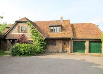 Thumbnail 4 bed detached house to rent in Itchen Stoke, Alresford