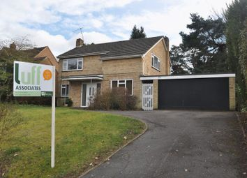 Thumbnail 4 bed detached house to rent in The Fairway, Frimley, Camberley