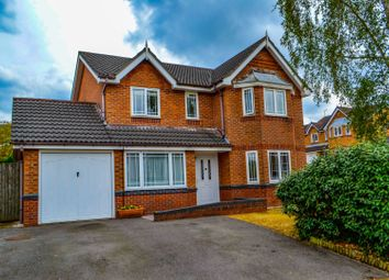 Thumbnail 4 bed detached house for sale in Chaffinch Close, Congleton