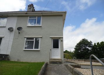Thumbnail 2 bed semi-detached house to rent in Middleway, St Blazey, Par, Cornwall