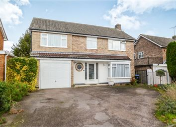 Thumbnail 4 bed detached house for sale in Weir Road, Kibworth, Leicester