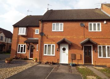 Thumbnail 2 bed terraced house for sale in Brighton Close, Wigston, Leicester, Leicestershire