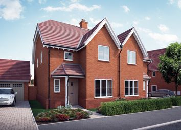 """Thumbnail 4 bedroom property for sale in """"The Elswick"""" at William Morris Way, Tadpole Garden Village, Swindon"""