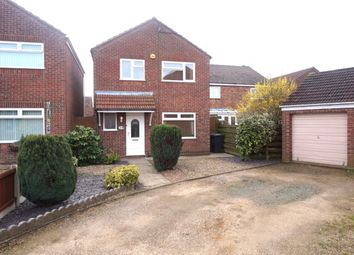 Thumbnail 3 bed detached house for sale in Leach Close, Bradwell, Great Yarmouth