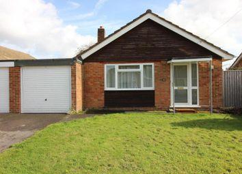 Thumbnail Detached bungalow for sale in Windsor Close, Hordle, Lymington