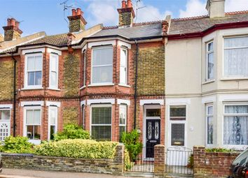 Thumbnail 3 bed terraced house for sale in Gladstone Road, Walmer, Deal, Kent