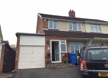 Thumbnail 3 bed semi-detached house to rent in Thornfield Cresent, Burntwood